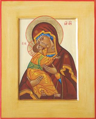 Ikoon van de Moeder Gods van Vladimir