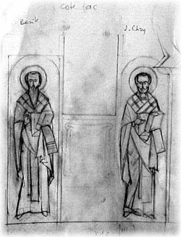 Saint Basil and Saint John Chrysostom