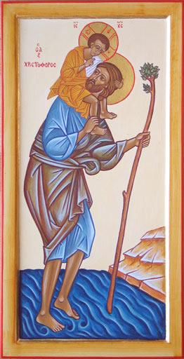 Icon of Saint Christopher
